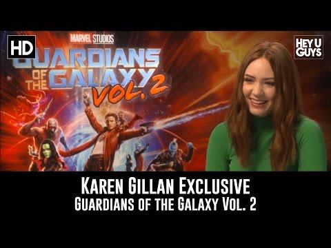 Karen Gillan Exclusive Interview - Guardians of the Galaxy Vol. 2