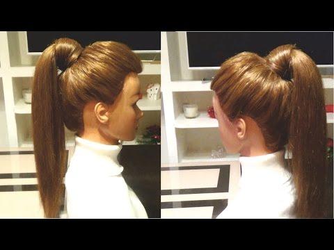 Простая прическа в школу своими руками. Easy hairstyle for school