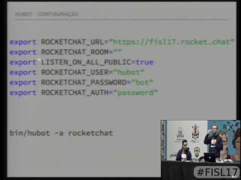 ChatOps Automatização com Raspberry Pi, BOTs e seu próprio servidor de Chat