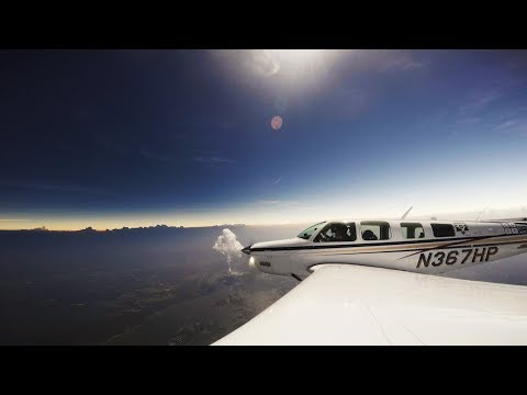 Flying Through Totality, Eclipse Flight