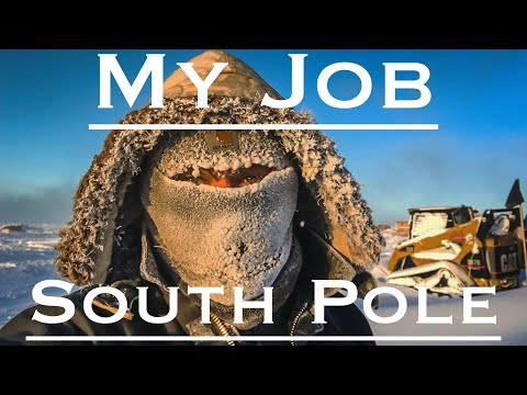 What I Do In Antarctica - South Pole Edition!