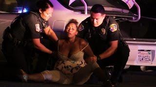 2 HOUR POLICE PURSUIT OF ERRATIC WOMAN