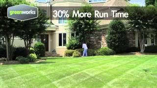 GreenWorks 24V Cordless Rotating Hedge Trimmer 1