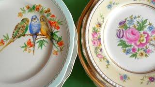 Шикарный Фарфор.Чудо тарелка. Головокружительные Находки