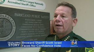 Broward Sheriff Scott Israel To Face No-Confidence Vote
