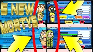 Pocket Mortys - 5 NEW MULTIPLAYER MORTYS! ADD FRIENDS + BLEND MORTYS! (ANDROID BETA!)