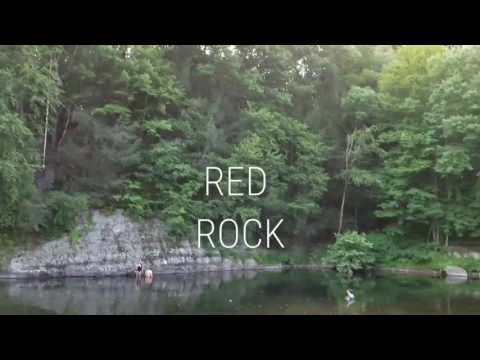 Red Rock Cliff Jumping (East Strondsburg) - YouTube