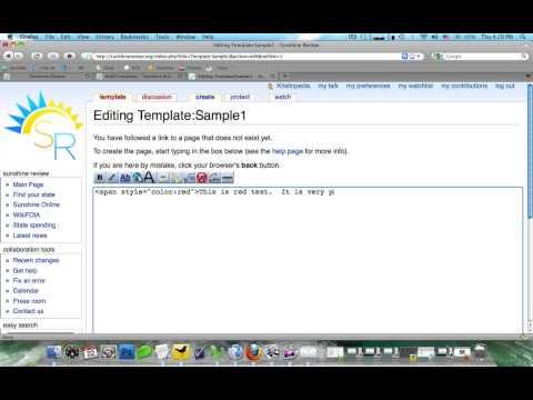 Wiki Templates - YouTube