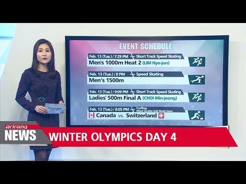 Winter Olympics Day 4