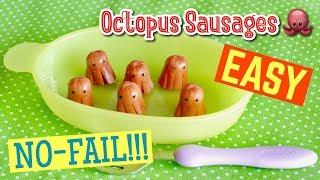 EASY! NO-FAIL! Tako-san (Octopus) Sausages 絶対に失敗しないタコさんウインナー - OCHIKERON - CREATE EAT HAPPY