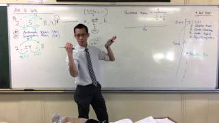 Arithmetic & Geometric Mean (2 of 2: Inserting Multiple Means)