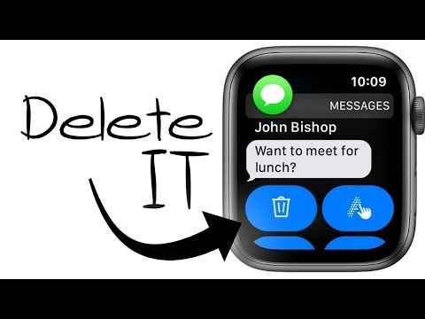 How To Delete Text Messages On Apple Watch