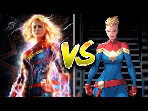 Film VS COMIC/BUCH-Vorlage (Captain Marvel, Game of Thrones) | Jay & Arya