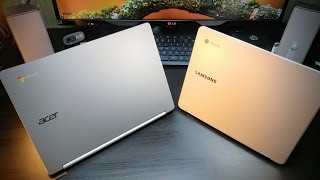 Samsung Chromebook Plus VS Acer Chromebook R13  ( ARM YourSelf )