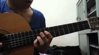 [Fingerstyle Guitar] [Rainy Day] học viên lớp dạy nhạc [6 NGÀY BIẾT CHƠI GUITAR]
