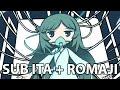 Hatsune Miku - 1year (Sub Ita + Romaji)