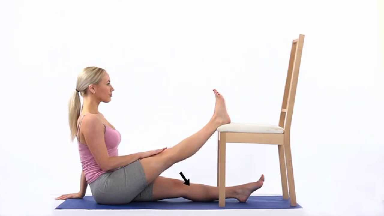 Chair Exercises On Tv Covers Guineys Knee Extension Passive - Youtube