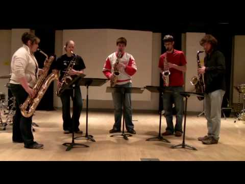 Round Midnight - Five Sax Arrangement