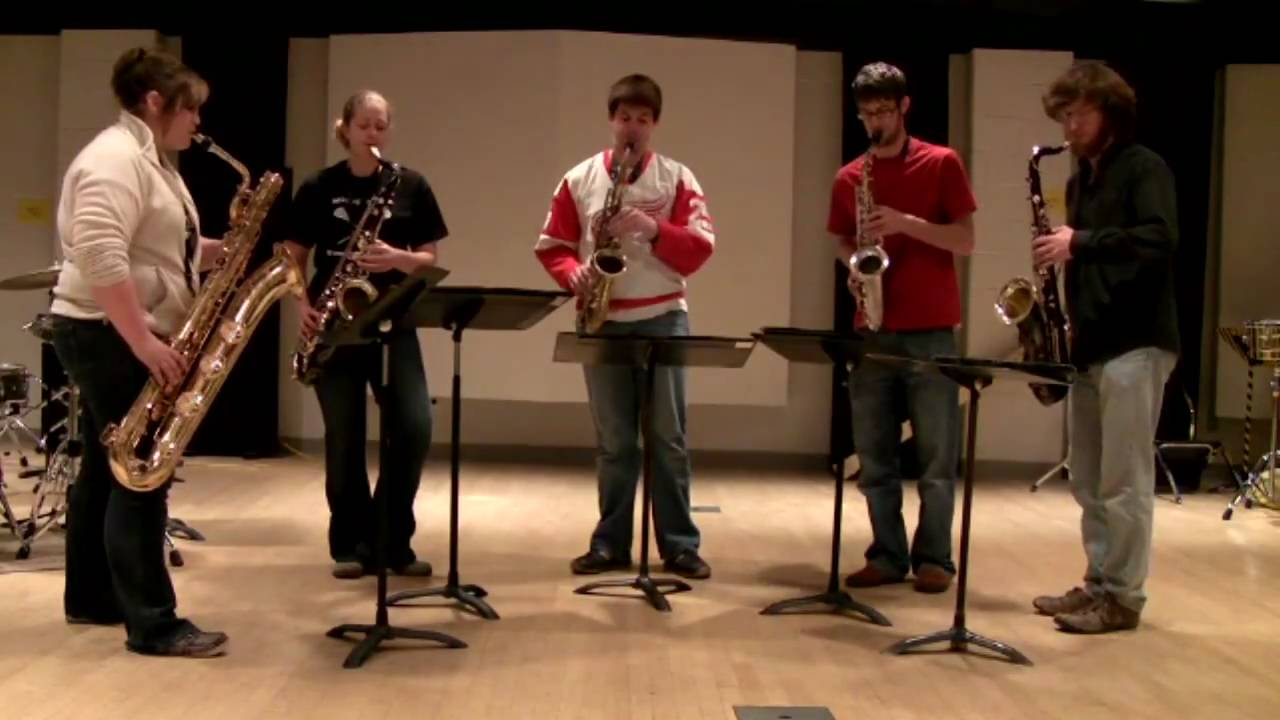 Preview image for Five Sax Arrangement video
