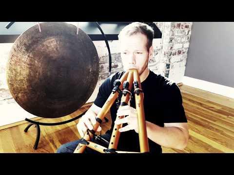 Behind Blue Eyes   Triple Native American Flute   Jonny Lipford