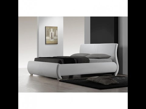 Awesome King Size Bed Frame With Headboard Design Ideas