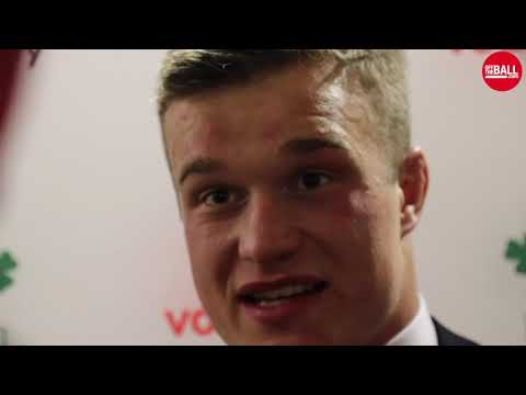 """Josh van Der Flier on All Black win 