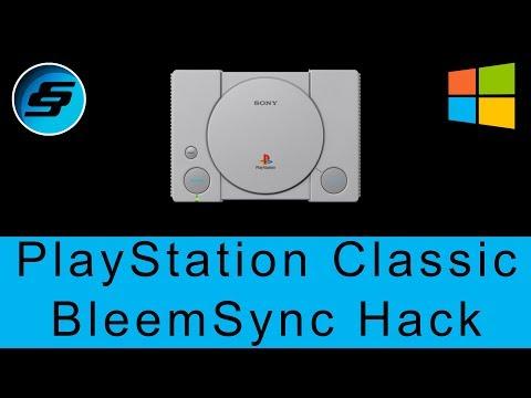 PlayStation Classic BleemSync 0.3.x Hack [ADD MORE GAMES] - Windows Setup