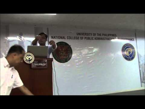 Lecture of Dr. Raymund E. Narag