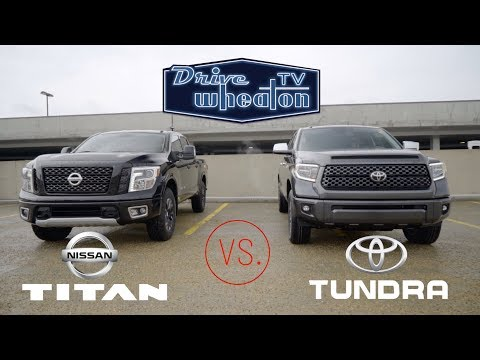 Nissan Titan vs. Toyota Tundra | Full-Size Pickup Comparison