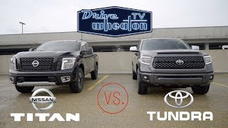 Nissan Titan vs. Toyota Tundra | Full-Size Pickup Comparison