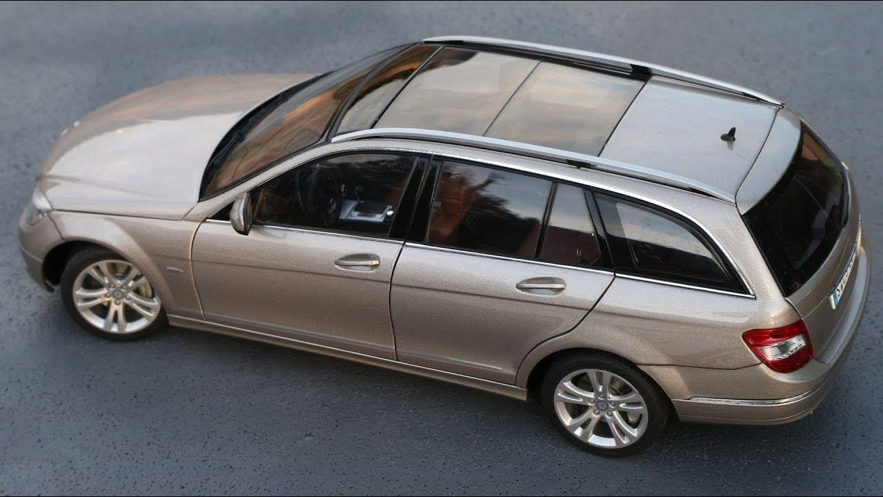 Details about  /Mercedes Classe C S204 T-Modell Elegance 2007 AutoArt 1//18 Klasse