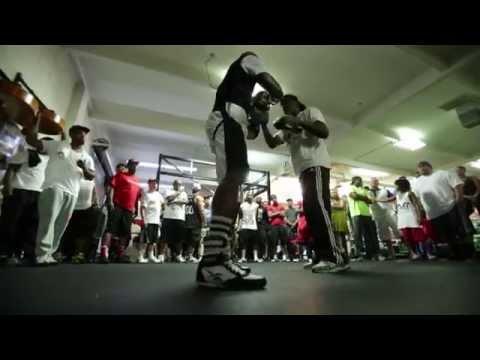 Floyd Mayweather in the Gym