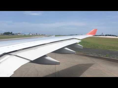Maldives takeoff- aeroflot a330 2016