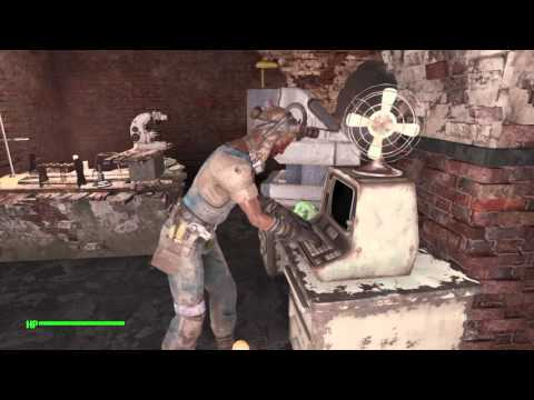 Fallout 4フォールアウト4171 連邦銀行にMILAを取り付ける&G