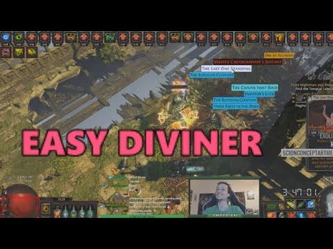 PoE Stream Highlights #201  Easy Diviners