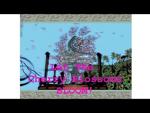 Let The Cherry Blossoms Bloom Okami Hd Youtube
