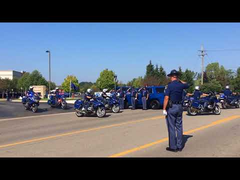 Fallen Trooper Timothy O'Neill honored at funeral