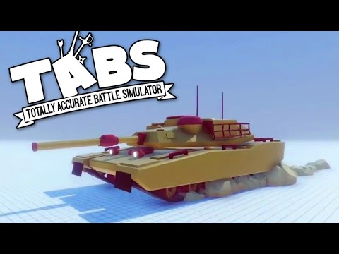 TABS - M1 Abrams Tank and Modern Warfare Faction! - Totally Accurate Battle Simulator