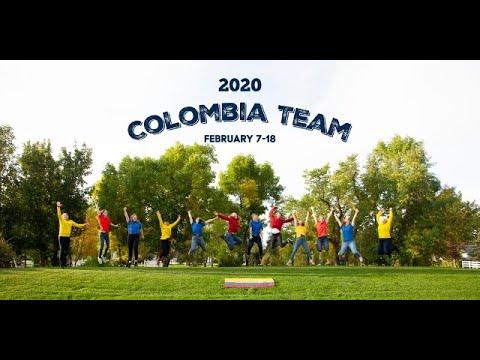2020 Colombia Team - Prairie Christian Academy, Three Hills AB