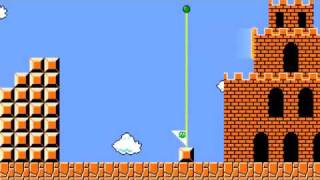 Супер Марио с пухой из Portal. Прикол