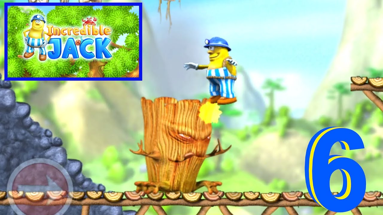 Incredible Jack: Fighting with Tree Boss  lvl 6-7 Gameplay #6
