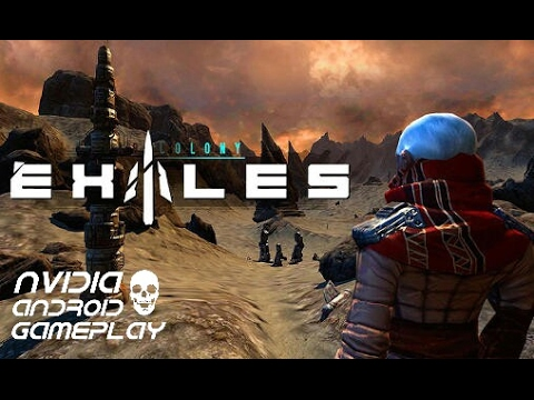 Far Colony: Exiles | HD Gameplay | Nvidia Shield Tablet K1 | Android
