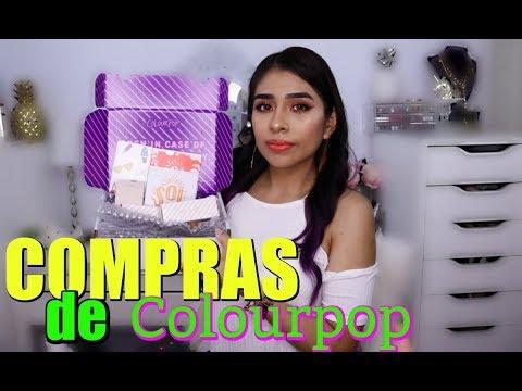 Makeup Haul: Compras de maquillaje de Colourpop + Primeras Impresiones! Valen la pena?