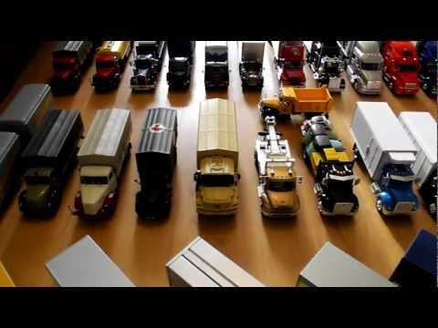 The collection trucks in scale 1/43