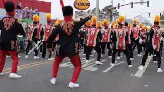 "Grambling St.""World Famed"" Breakdown Alexandria ""Mardi Gras 2015"""