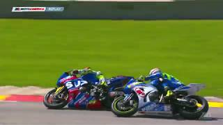 Road America Superbike Saturday Race Highlights