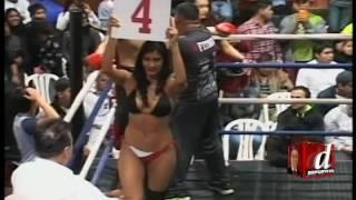 Batalla campal tras una pelea por título nacional de Boxeo