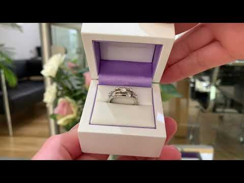 Rainstorm 7 Stone Diamond Ring