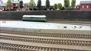 Heljan Waggon & Maschinenbau Railbus Enters Service. (08-03-2012).wmv