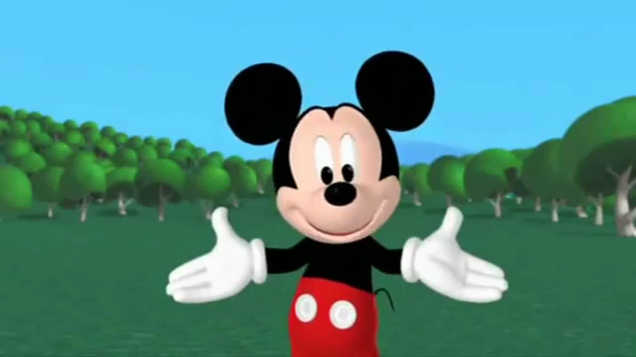 mickey mouse el verdadero intro de la casa de mickey